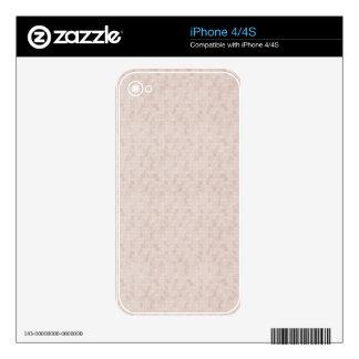 Rustic Apricot iPhone 4S Skin