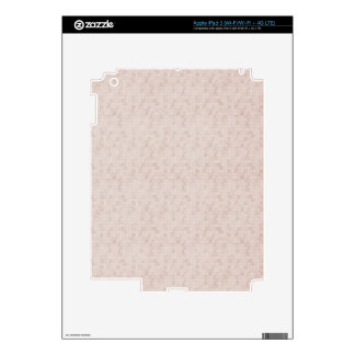Rustic Apricot Skins For iPad 3