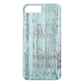 Rustic Aqua Barn Wood iPhone 7 Plus Case