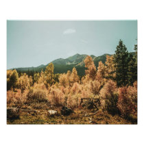 Rustic Autumn Beauty // Golden Leaves