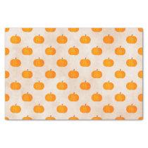 rustic autumn harvest pumpkins tissue paper