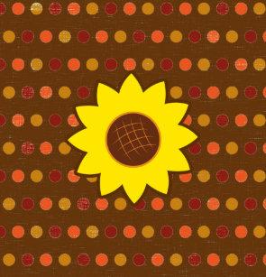 Rustic Autumn Sunflower Shower Curtain