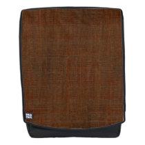 Rustic Bamboo Wood Grain Texture Look Backpack