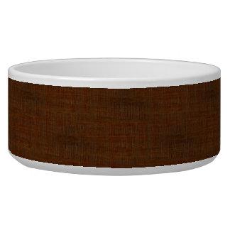Rustic Bamboo Wood Grain Texture Look Bowl