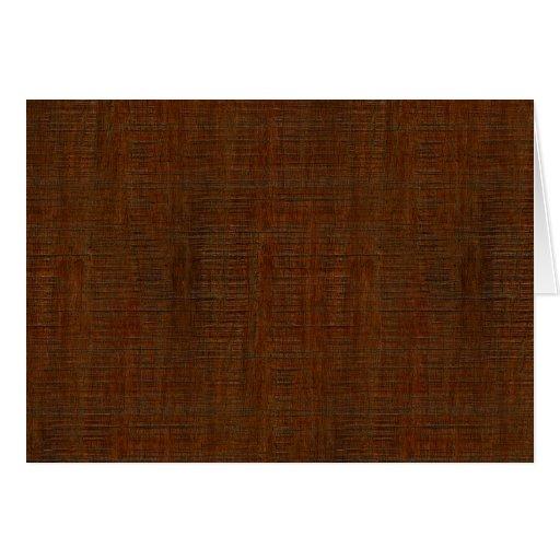 rustic bamboo wood grain texture look card zazzle