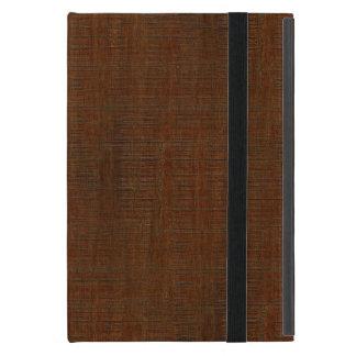 Rustic Bamboo Wood Grain Texture Look Case For iPad Mini