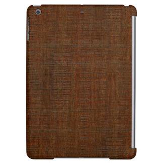 Rustic Bamboo Wood Grain Texture Look Cover For iPad Air