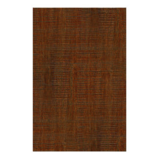 Rustic Bamboo Wood Grain Texture Look Flyer