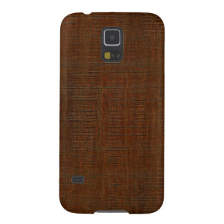 Rustic Bamboo Wood Grain Texture Look Galaxy S5 Cover