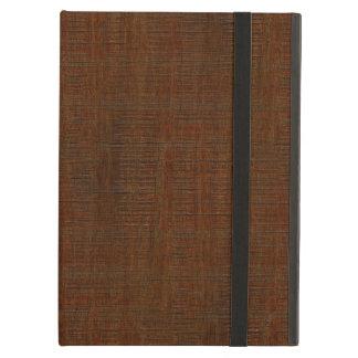Rustic Bamboo Wood Grain Texture Look iPad Air Case
