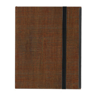 Rustic Bamboo Wood Grain Texture Look iPad Cover