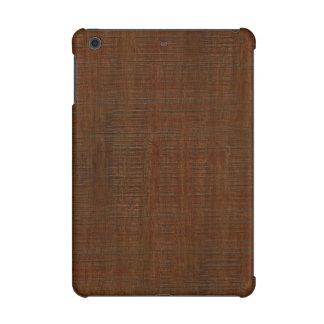 Rustic Bamboo Wood Grain Texture Look iPad Mini Retina Cover