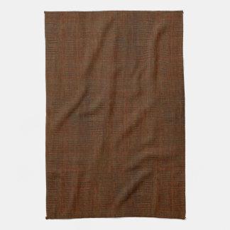 Rustic Bamboo Wood Grain Texture Look Kitchen Towel