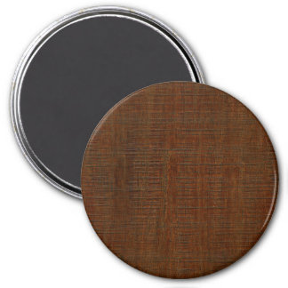 Rustic Bamboo Wood Grain Texture Look Magnet