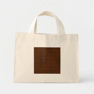 Rustic Bamboo Wood Grain Texture Look Mini Tote Bag
