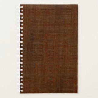 Rustic Bamboo Wood Grain Texture Look Planner