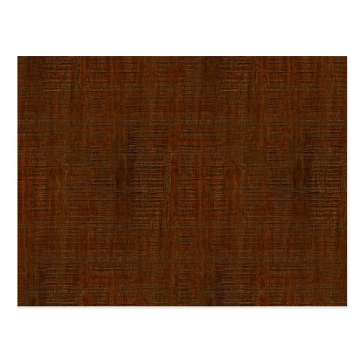 rustic bamboo wood grain texture look postcard zazzle
