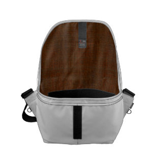 Rustic Bamboo Wood Grain Texture Look Small Messenger Bag