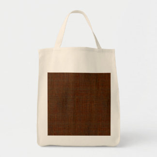 Rustic Bamboo Wood Grain Texture Look Tote Bag