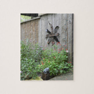 Rustic Barn 8x10 Photo Puzzle with Tin