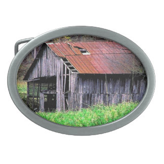Rustic Barn Belt Buckle