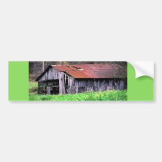Rustic Barn Bumper Sticker