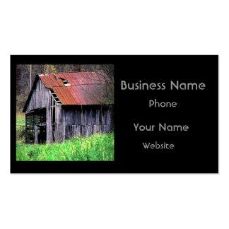 Rustic Barn Business Card