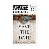 Rustic Barn Country Save the Date Postage