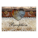 Rustic Barn Country Wedding Reception Cards Business Card