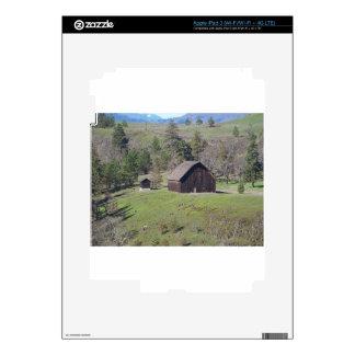 Rustic Barn iPad 3 Decals