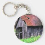 Rustic Barn Key Chains