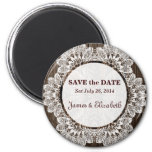 Rustic Barn Save the Date Magnet