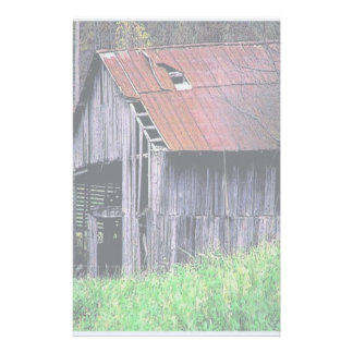 Rustic Barn Stationery
