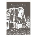 "Rustic Barn Wedding Invitation 5"" X 7"" Invitation Card"
