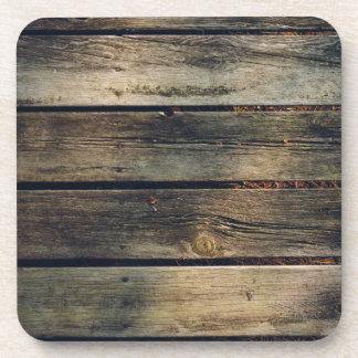 Rustic Barn Wood Beverage Coaster