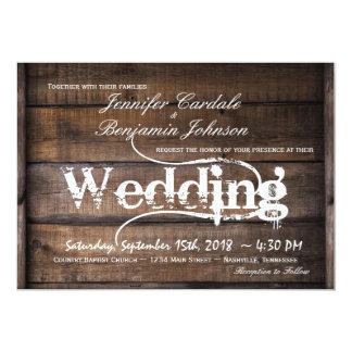 rustic country wedding invitations: designs & collections on zazzle, Wedding invitations