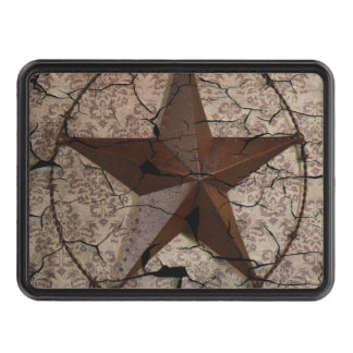 Rustic barn wood cowboy Texas star western country Trailer Hitch Cover