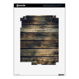 Rustic Barn Wood Decal For iPad 3
