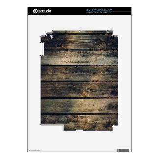 Rustic Barn Wood iPad 2 Skin