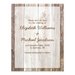 Rustic Barn Wood Save the Date Invitations