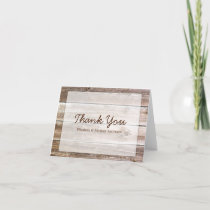 Rustic Barn Wood Thank You