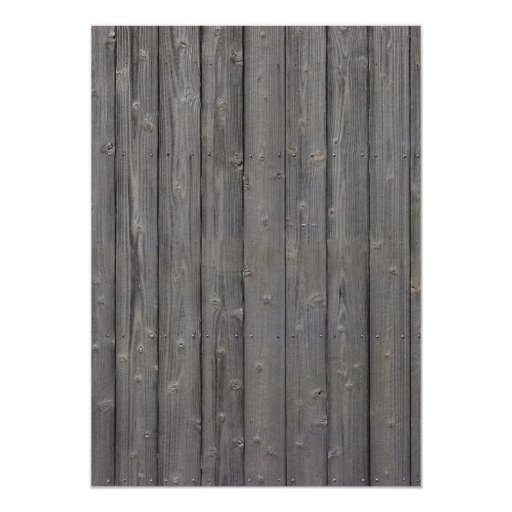 Rustic Barn Wood Tying the Knot Photo Wedding Personalized Invites (back side)