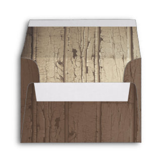 rustic barn wood wedding envelopes for RSVP