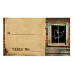Rustic Barn Wood Wedding Place Cards Business Card Templates
