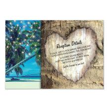 Rustic Beach Destination Wedding Information