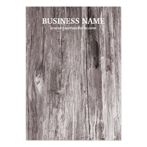Rustic Beach Driftwood Background Earring Cards Business Card Template
