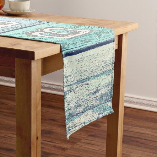 Rustic Beach Driftwood Short Table Runner