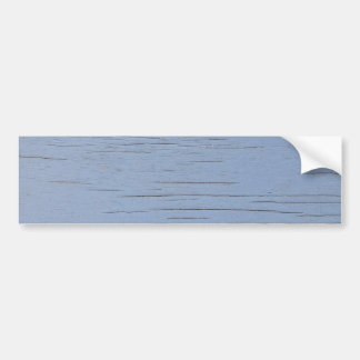 Rustic Beach Wood blue Bumper Stickers