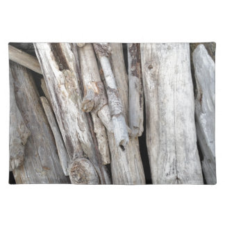 Rustic Beachy Driftwood Stack from Oregon Coast Placemat