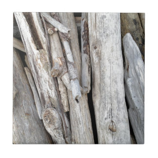 Rustic Beachy Driftwood Stack from Oregon Coast Tile